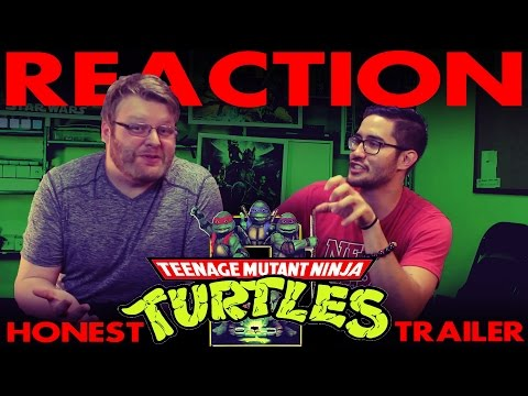 Honest Trailers - TMNT 2: The Secret of the Ooze REACTION!!