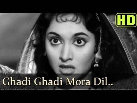 Ghadi Ghadi Meraa Dil - Madhumati - Dilip Kumar - Vyjayantimala - Lata Mangeshkar