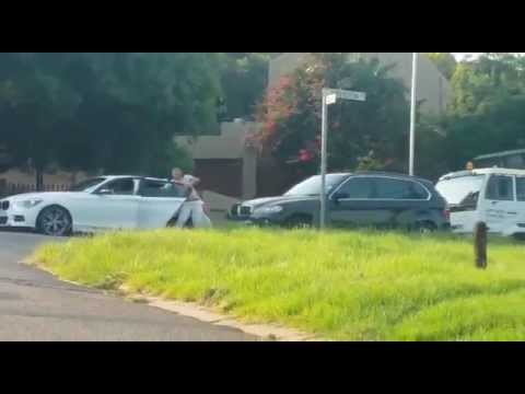 Dramatic attemped hijacking in Pretoria