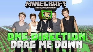 Video DRAG ME DOWN - One Direction - Minecraft Xbox One Noteblock Song MP3, 3GP, MP4, WEBM, AVI, FLV Januari 2019