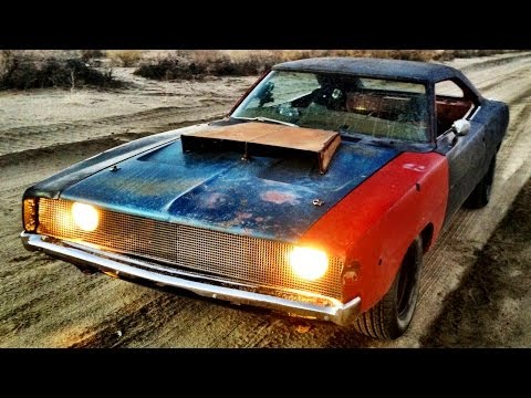 Dirt Cheap Rat Rod! 1968 Charger Buildup and Thrash – Roadkill Ep. 23