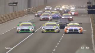 Video Huge start crash FIA GT World Cup 2017 at Macau Qualify MP3, 3GP, MP4, WEBM, AVI, FLV April 2019