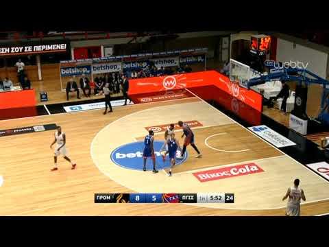 Basket League 2019-2020: ΠΡΟΜΗΘΕΑΣ ΠΑΤΡΑΣ – ΠΑΝΙΩΝΙΟΣ | 23/11/2019 | ΕΡΤ