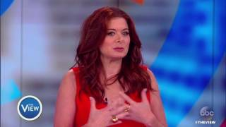 Video Debra Messing on Addressing Ivanka Trump, 'Will and Grace' Return | The View MP3, 3GP, MP4, WEBM, AVI, FLV Mei 2018