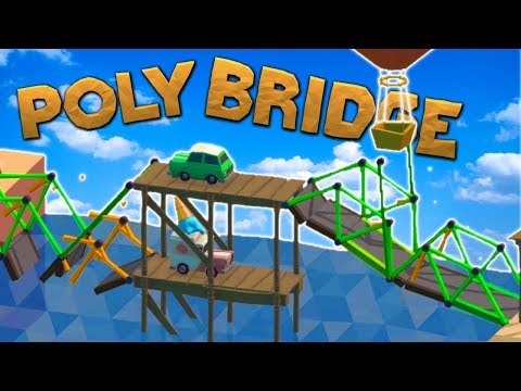 Am I the WORST Poly Bridge Player?! (Poly Bridge Funny Moments Gameplay)