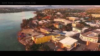 Port Vila Vanuatu  city images : Port Vila Vanuatu drone footage