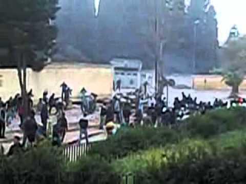 Fès : Violentes altercation entre étudiants et forces de l'ordre à l'Université Ben Abdellah