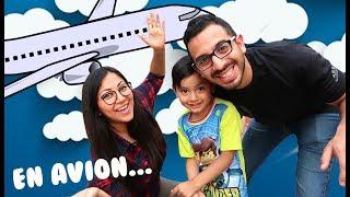 Nuestro Primer Viaje En Avion | Family Juega