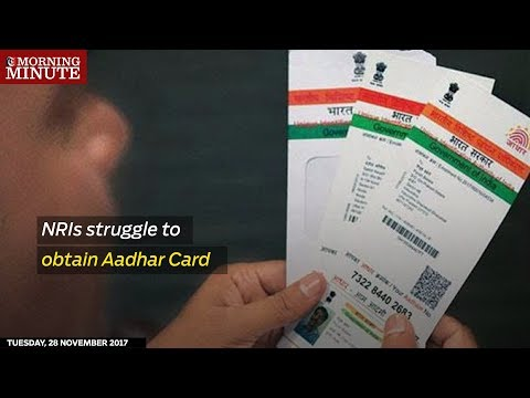 Indians living in Oman may not be eligible for an Aadhaar Card