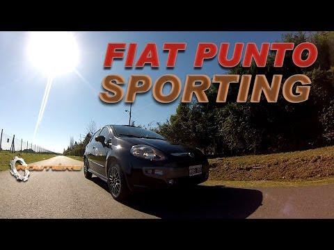 Fiat Punto Sporting 1.6 Test - Routière - Pgm 143