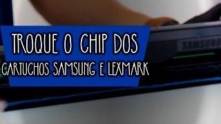 Os Chips fazem a comunicação entre o cartucho e a impressora. Quando você faz uma recarga é necessário trocar o Chip para que a impressora reconheça como um cartucho novo.Assista o vídeo de hoje e entenda um pouco mais!
