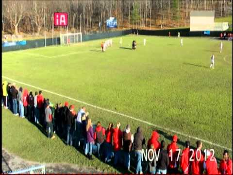 Women's soccer NCAA Tournament goals vs. Union and Cortland State
