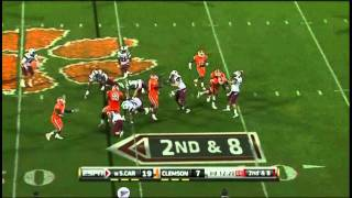 Brandon Thompson vs South Carolina 2010