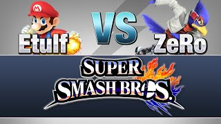 ZeRo gives some pretty great commentary on how to play Sm4sh Falco