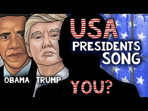 US Presidents Song For Kids | All the Presidents of the United States of America in Order