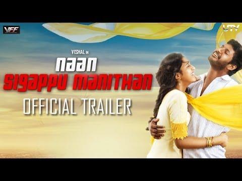'Naan Sigappu Manithan'   Official Trailer   Vishal, Lakshmi Menon