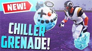*NEW* Chiller Grenade Gameplay! [ALL Abilities] (Fortnite)