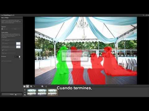 Video 1 de PaintShop Pro: Mezclar fotos con Corel PaintShop Pro 2