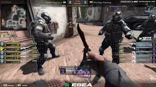 ESEA MDL Season 27 Europe || Fragsters vs Windigo bo1|| by @Norov