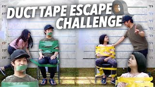 Video DUCT TAPE ESCAPE CHALLENGE (Pranked Brother) | Ranz and niana MP3, 3GP, MP4, WEBM, AVI, FLV November 2018