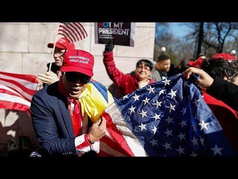 Μαζικές διαδηλώσεις κατά του Ντόναλντ Τραμπ