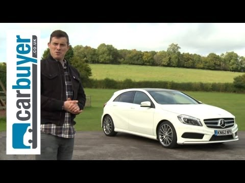 Mercedes - Mercedes A-Class hatchback review: http://bit.ly/1eaUosY Subscribe to the CarBuyer YouTube channel: http://bit.ly/17k4fct Subscribe to Auto Express: http://s...