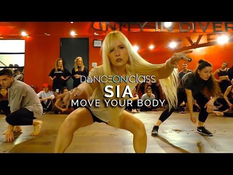 Sia - Move Your Body   Nika Kljun Choreography   DanceOn Class