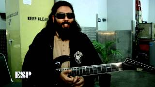 ESP Guitars: Stephen Carpenter (Deftones) Interview 2012