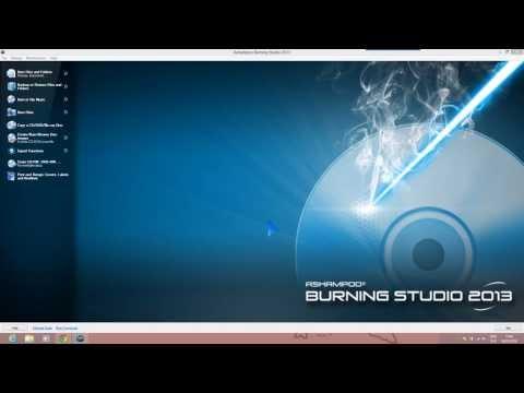 [Dobre programy] Jak nagrywać płyty CD/DVD/Blu-ray ? Ashampoo Burning Studio 2013