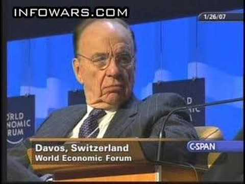 Rupert Murdoch - Rupert Murdoch of News Corp / Fox News Admits Manipulating the News for Agenda - Admits he supported the Bush Agenda in Iraq - He is part of the Bilderburg g...