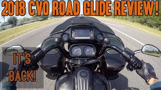 8. 2018 CVO Road Glide Ride Review!