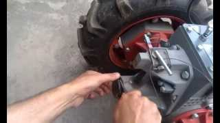 Мотоблок Мотор Сич видео обмен опытом - фиксация навески мотоблока