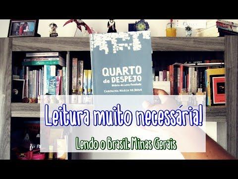 Quarto de Despejo, da Carolina Mª de Jesus | Projeto Lendo o Brasil | Passos entre Linhas