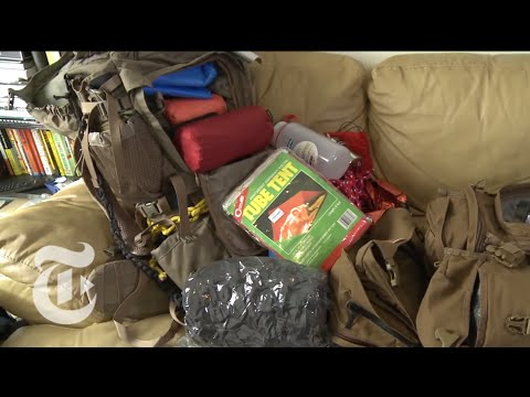 The Doomsday Preppers of New York – Building a Bug-Out Bag