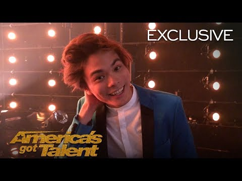 Shin Lim's Emotional Reaction After Winning AGT - America's Got Talent 2018