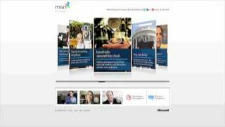 http://www.tourmsn.com/SL/ Right from my email inbox: Web video demo from the new MSN home page completely redesigned...