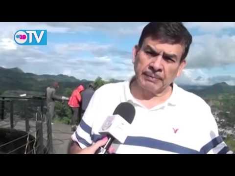Avanza en 80% remodelación del Parque Cerro El Calvario en Matagalpa