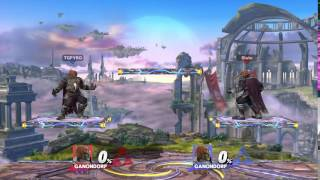 Ganondorf Down-B Platform Cancel