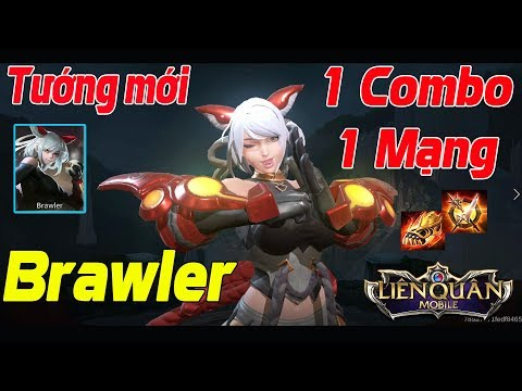 Liên Quân Mobile Tướng BRAWLER 1 Combo 1 Mạng Siêu Quái Vật 3 Đầu Brawler Hạo Nhiên Chưởng TNG - Thời lượng: 13 phút.