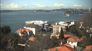 Sydney Webcam Time Lapse for Thu, 20th August 2015