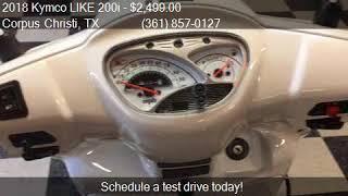 10. 2018 Kymco LIKE 200i  for sale in Corpus Christi, TX 78416 a