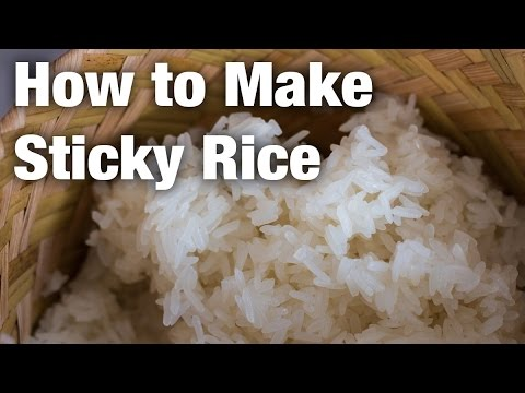 How To Make Sticky Rice (Thai Street Food Style)