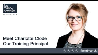 Meet Charlotte Clode, FBCMB's Training Principle & understand more about our application deadlines