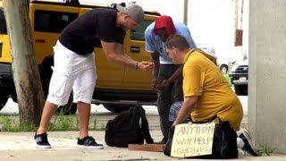 Homeless Jackpot Prank