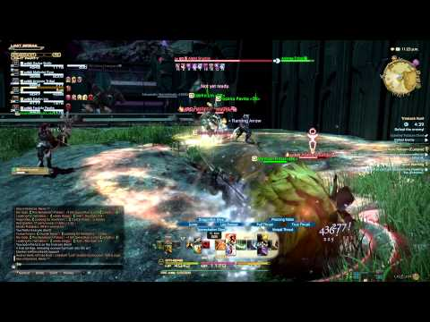Final Fantasy XIV A Realm Reborn Treasure Hunting alpha Snurble