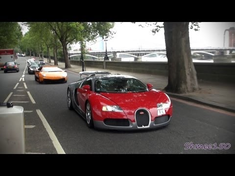 2 Veyrons, V12 Zagato, SV, GTO, Enzo, F40, it's time for a Supercar Convoy!