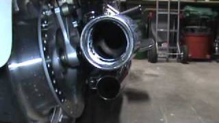 1. 2008 Honda VTX 1300R Hole Saw Exhaust Modification
