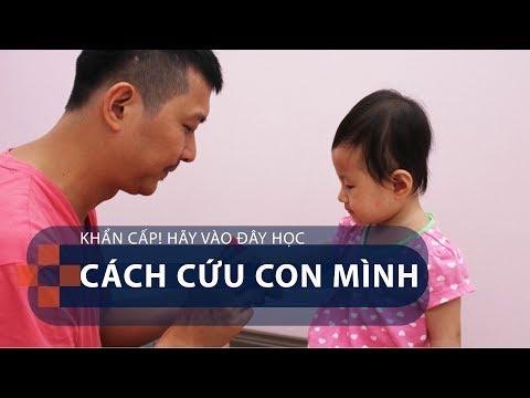 Khẩn cấp! Hãy vào đây học cách cứu con mình | VTC1 - Thời lượng: 2 phút, 30 giây.