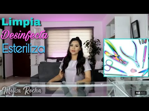 Videos de uñas - Clase #3 Curso 2019LIMPIA, DESINFECTA Y ESTERILIZA  TUS HERRAMIENTAS DE UÑAS  Melisa Rocha