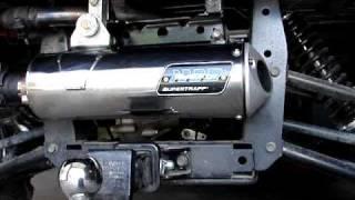 8. KYMCO UXV 500 with SuperTrapp Mudslinger 1